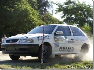 Roberto Bondioni, ganador en Goya de la A 7. Coordinador del Rally de Urdinarrain - Gilbert