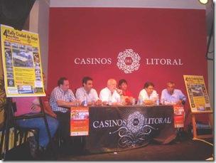 Conferencia de prensa en Goya
