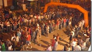 Una multitud se hizo presente en la rampa de largada
