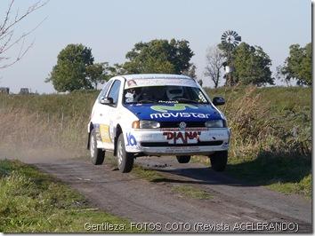 Tito Prina, inesperado ganador del Rally de Urdinarrain - Gilbert