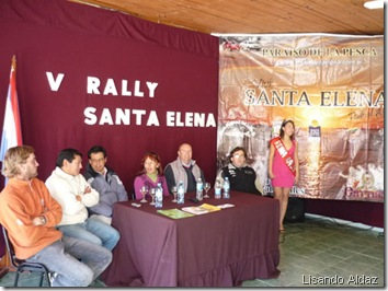 Conferencia de prensa en Santa Elena