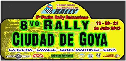 Chapa Rally Goya 1200