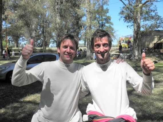 Leandro Bonnin y Favio Bruzera