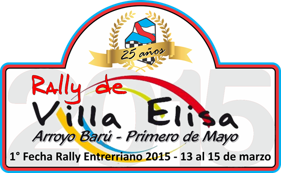 Chapa Rally de Villa Elisa 2015