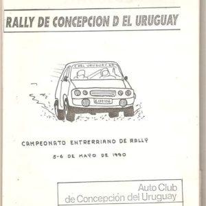 Tapa Libro Rally CDU 1990