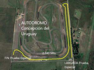 Autodromo Circuito Prueba Rally 4 10 20